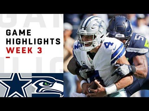 Xxx Mp4 Cowboys Vs Seahawks Week 3 Highlights NFL 2018 3gp Sex