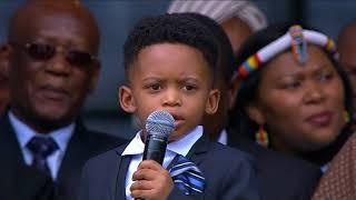 Winnie Madikizela-Mandela's great-grandchildren pay tribute to her