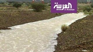 صباح العربية: أمطار جدة ودعوات للحذر
