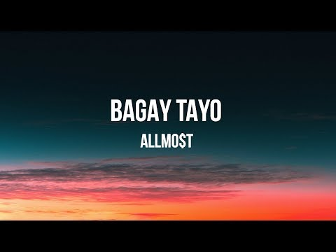 Bagay Tayo Lyric video ALLMO T