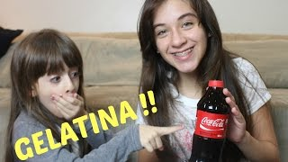 DIY COCA COLA DE GELATINA - SOPHIA SANTINA