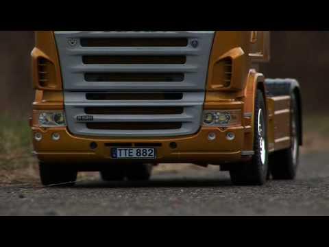 2 Tamiya SCANIA Trucks