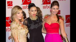 الملابس الساخنة للفنانات المصريات والعربيات , حفل MBC مصر