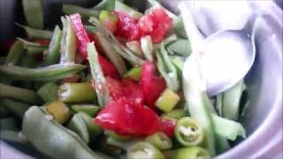 En basit nefis zeytinyağlı taze fasulye yemeği tarifi / Ev Yemekleri