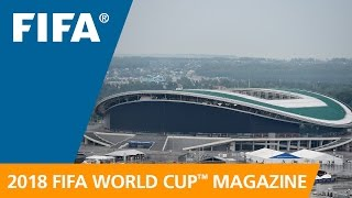 Russia 2018 Magazine: Beautiful Kazan Arena