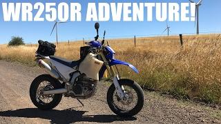 Yamaha WR250R Overnight Camping! Mini Adventure!