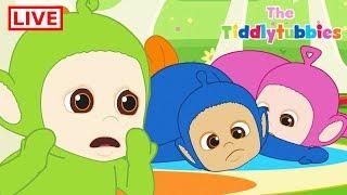 Teletubbies LIVE ★ NEW Tiddlytubbies 2D Series ★ Episodes 5-9 Tiddlytubbies Party★ Cartoon for Kids