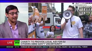 Charity to provide legal aid for EU citizens amid government uncertainty