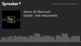 Davido - Fall Instrumental (Karaoké)
