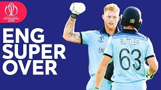 England Super Over   Every Ball   ICC Cricket World Cup 2019