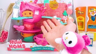 Num Noms Learning Video for Kids Teach Toddlers Counting NumNoms GoGo Cafe Toy Teaching Movie