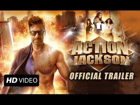 Action Jackson (Uncut Official Trailer) | Ajay Devgn, Sonakshi Sinha & Yami Gautam