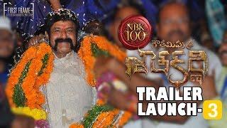 Gautamiputra Satakarni Theatrical Trailer Launch Part 3 -  Nandamuri Balakrishna, Krish | #NBK100