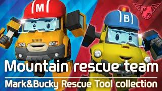 MARK&BUCKY Rescue tool Collection   #Mountain rescue team   Robocar POLI
