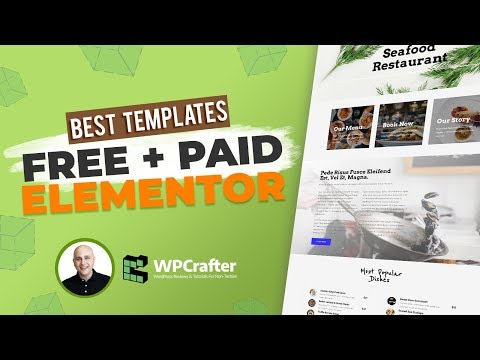 Best Free & Paid Elementor Template Packs for WordPress - Something For Everyone