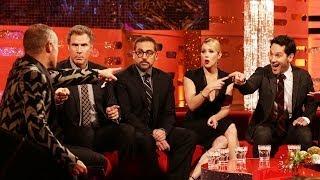 ANCHORMAN 2 Cast Does Spoof News Headlines - The Graham Norton Show on BBC AMERICA