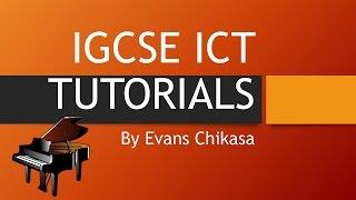 IGCSE ICT 2016 May June Paper 22 Data Manipulation Database Reports