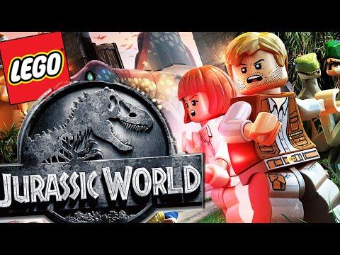 Lego Jurassic World CREATING MY OWN DINOSAURS