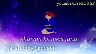 Chand Chupa Badal Mein - Hum Dil De Chuke Sanam | whatsapp status | LYRICS SP |