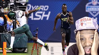 THE FASTEST FOOTBALL PLAYER EVER! DE'ANTHONY