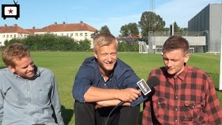 Interview med Cyron Melville, Gustav Dyekjær Giese og Esben Smed