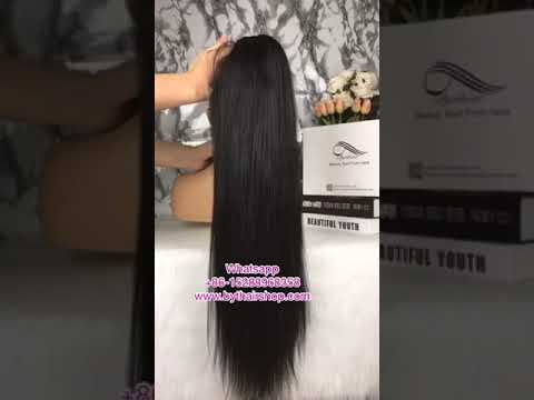 Xxx Mp4 Bythairshop 2018 Hot Selling Silky Straight 100 Virgin Human Hair Lace Wig Www Bythairshop Com 3gp Sex
