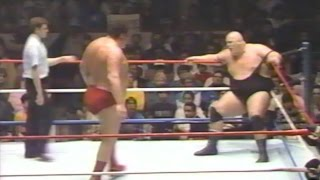 Andre the Giant vs King Kong Bundy