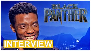 Black Panther - exclusive interview with the cast