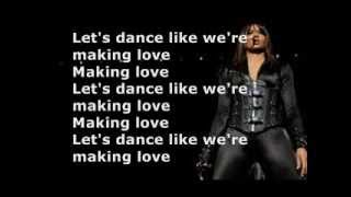 Ciara  - Dance Like We're Making Love (Lyrics on Screen)