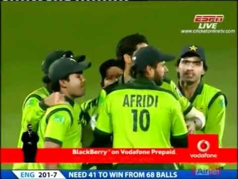 Umer Gul career best bowling 6 wickets vs England
