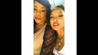 Is #Karrueche  dating #Niecy Nash? #QueenVirginia & Desna KISS and get close! #CLAWS