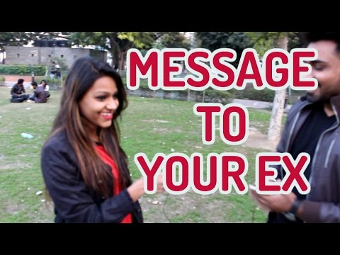 Message to your Ex | Abusing EX | Delhi Reactions | Bakarbazi