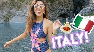 Italian Adventures IN SICILY! | Amelia Liana Travel With Me Vlog