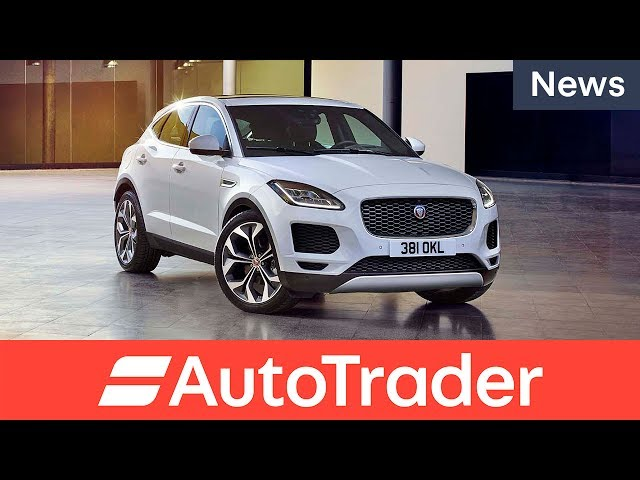 All new Jaguar E-Pace SUV first look
