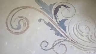 Marble Inlay Flooring onsite Work