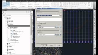 Civil 3D Profile Creation