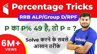 Percentage In Maths | Percentage Calculator Trick जाने सभी सवालों के Answer