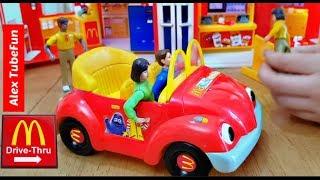Kids Fun Pretend Play with Toys-McDonald