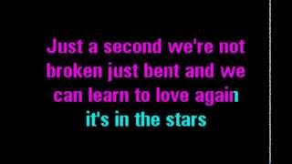 Pink feat. Nate Ruess Just Give Me A Reason Karaoke