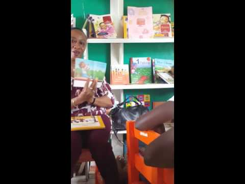 KEEP'S reading hour with aunty Rhonda