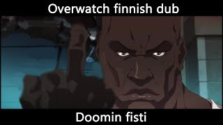 Overwatch Dubbi Doomfist Origin Story