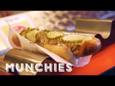 Xxx Mp4 MUNCHIES Presents The Art Of Making Danish Hot Dogs 3gp Sex