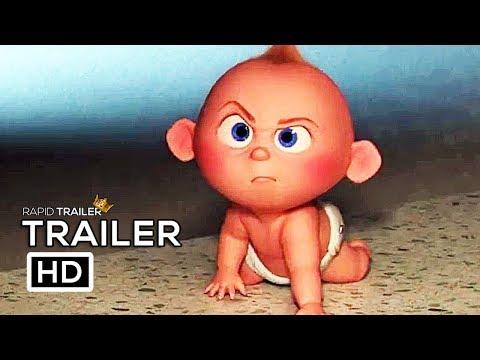 Xxx Mp4 INCREDIBLES 2 Babysitting Jack Jack Trailer NEW 2018 Disney Animated Superhero Movie HD 3gp Sex