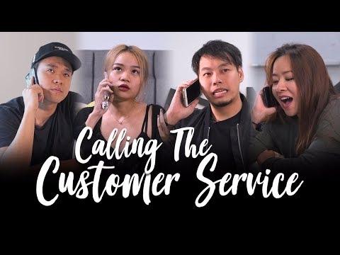 Calling the Customer Service