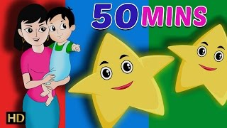 Finger Family Nursery Rhymes & More  Rhymes Collection For Children Shemaroo Kids 50 Mins | HD