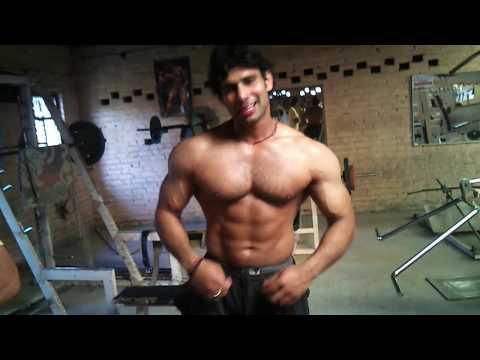 Parveen body builder from panipat haryana india.mp4
