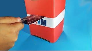 How to Make ATM Machine - Piggy Bank for kids