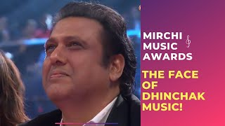 The Face Of Dhinchak Music, Govinda At Royal Stag Mirchi Music Awards | Radio Mirchi