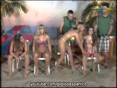 Pânico Na TV 15 08 2010 Antonio Nunes Game com as Panicats