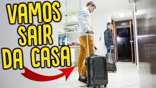 VAMOS NOS MUDAR DE CASA!! ( INVASOR NOS OBRIGOU!! ) [ REZENDEEVIL ]